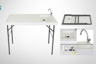 portable fish cleaning table