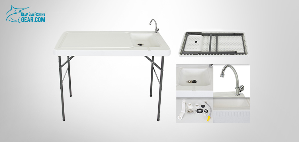 Portable Fish Fillet Cleaning Table | Deep Sea Fishing Gear